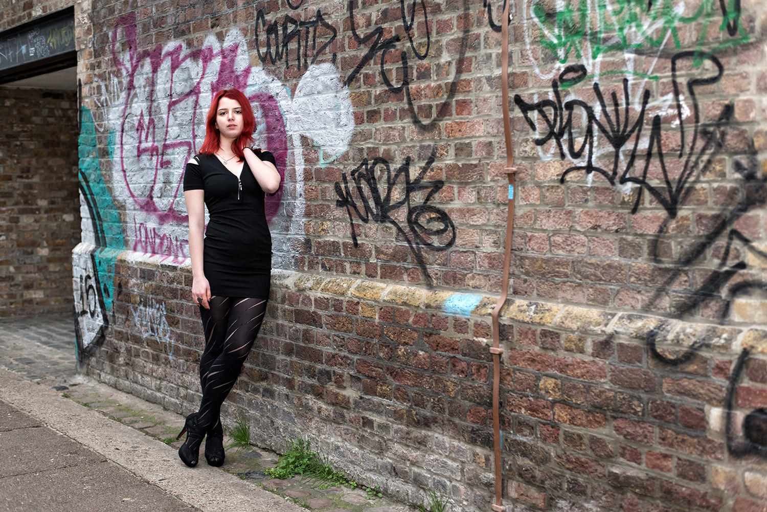 Camden graffiti photoshoot